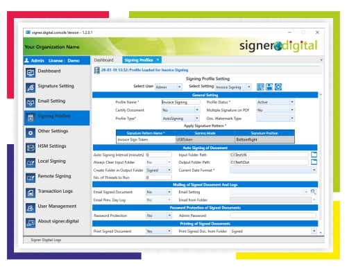 Walk-Through-Server-Application-signing-profiles